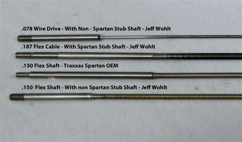 rc boat drive shaft setup spartan wire drives
