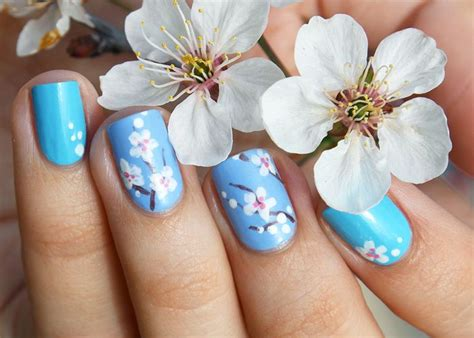 unghie fiori nail a fiori le idee pi 249 per unghie floreali in