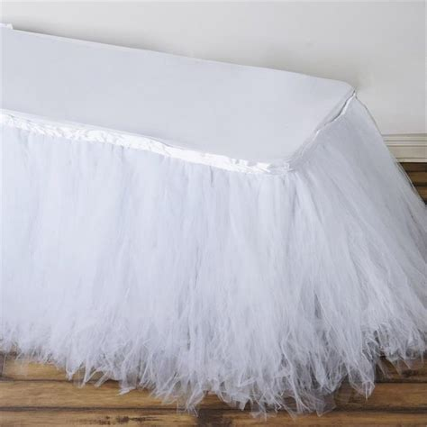 tulle tutu table skirt 1000 ideas about tulle table on table skirts