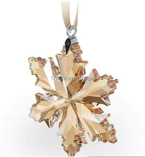 swarovski swarovski 2014 christmas ornament scs gold