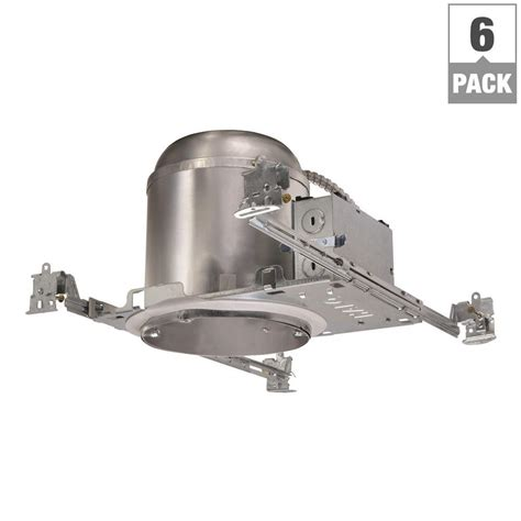 halo recessed lighting housing halo h750 6 in aluminum led recessed lighting housing for