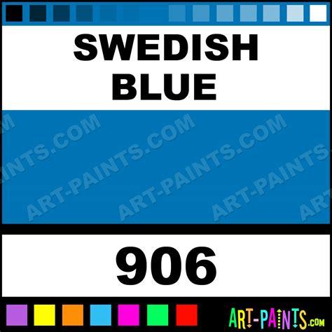swedish blue swedish blue decorative acrylic paints 906 swedish