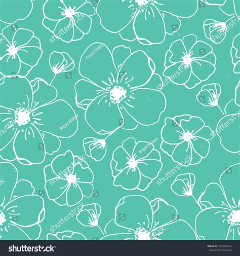 floral pattern repeat vector repeating modern floral background pattern flower stock