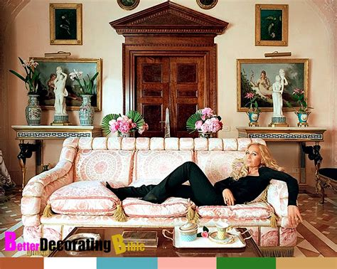 celebrity homes decor celebrity home inside donatella versace s apartment