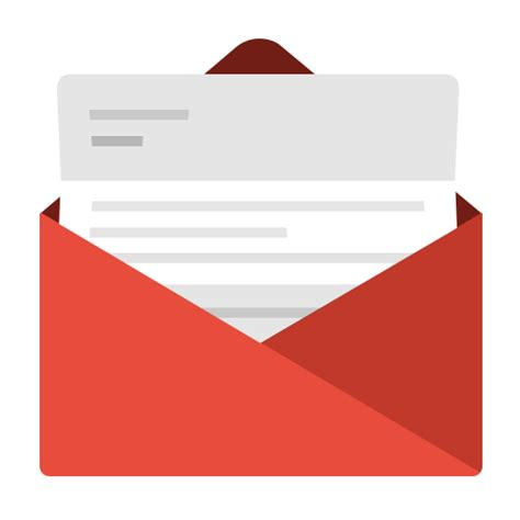 Offer Letter Icon Communication Contact Email Envelope Fold Gmail Letter Mail Message Messages Open