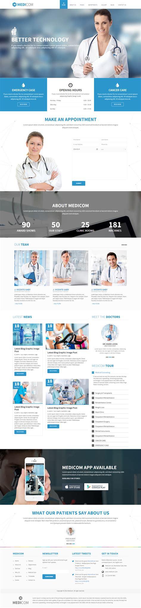 theme drupal health medicom premium responsive medical health drupal theme