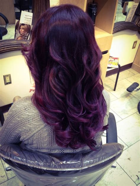 deep velvet violet hair dye african america vidal sassoon pro series hair color 3vr deep velvet violet