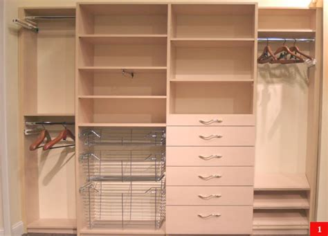 Custom Closet Components Design Center Mobile Site