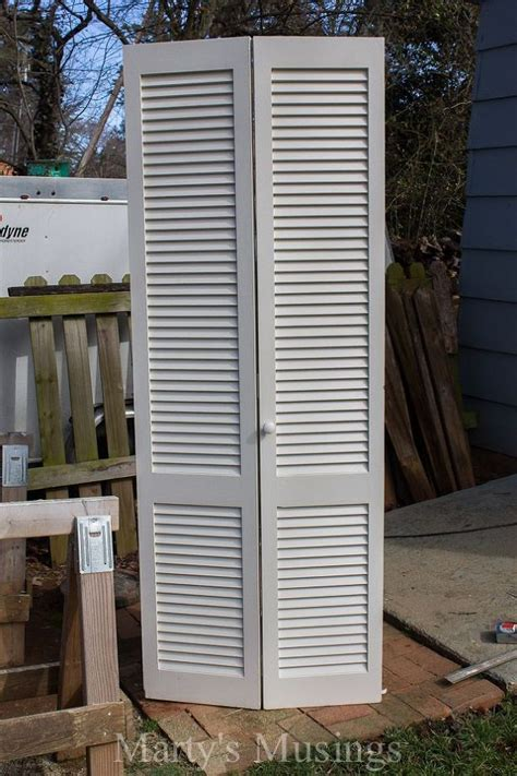 How To Paint Louvered Closet Doors Repurposed Closet Door To Headboard Hometalk