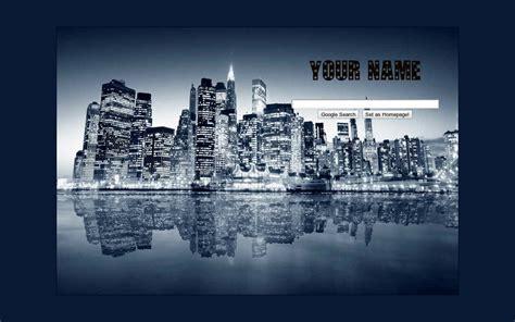 google themes new york lights of newyork google theme