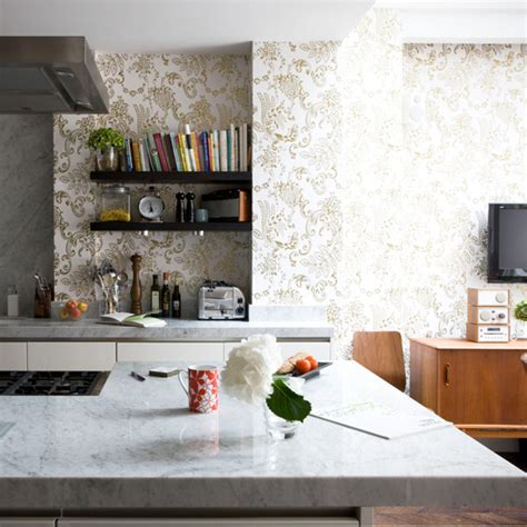 wallpaper in kitchen ideas kitchen wallpaper ideas 10 of the best