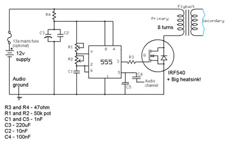 transistor flyback driver circuit flickr photo