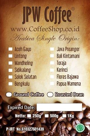 Biji Kopi Robusta Bali Kintamani Honey Northsider Coffee 1kg kopi indonesia specialty coffee indonesia jpw coffee