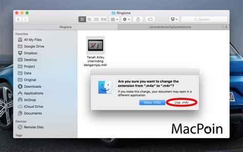 cara membuat ringtone iphone di mac seperti inilah cara membuat ringtone di iphone macpoin