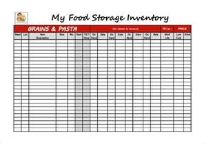 food inventory template 11 free excel pdf documents