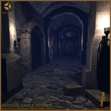 Home Interior Stairs medieval castle interior game level