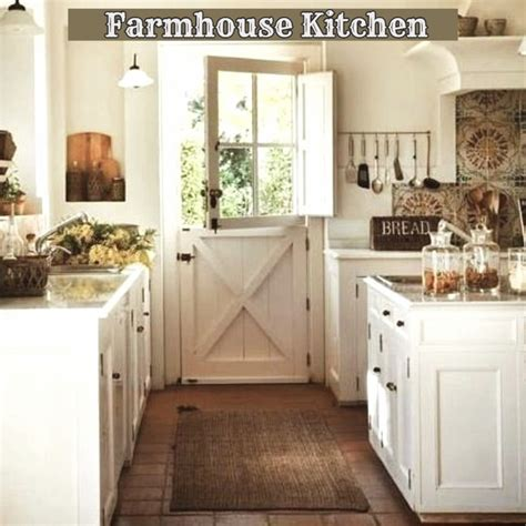 farmhouse kitchen decor ideas farmhouse decor clean crisp organized farmhouse