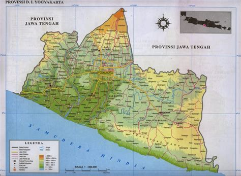 list  tourist attractions  yogyakarta special region