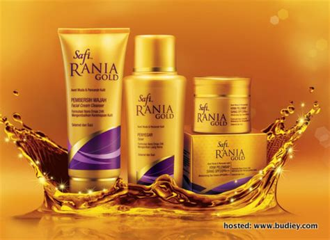 Pembersih Wajah Safi Rania Gold rozita che wan duta produk terbaru safi rania gold nget ngot