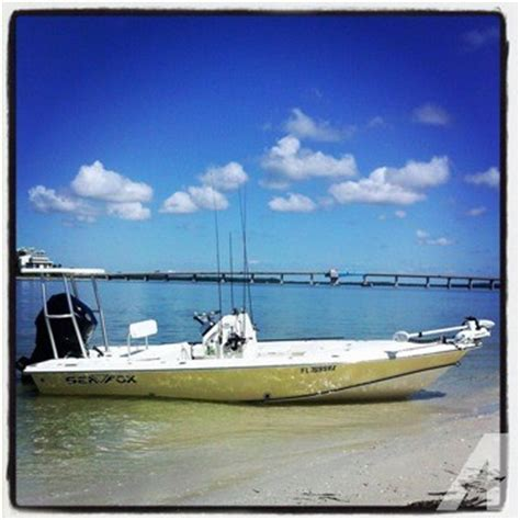 sea fox boat parts 2004 sea fox flats boat for sale in fort myers florida