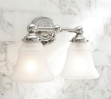 pottery barn bathroom lighting sussex double sconce pottery barn
