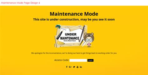 maintenance mode html template seo challenges it took me 10 years to figure