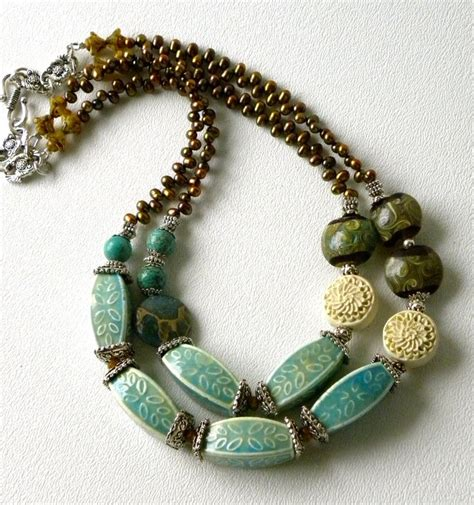 Handcrafted Necklaces - 17 best images about jewelry on beaded