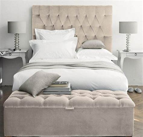 bed tufted headboard 25 best modern bedroom benches ideas on