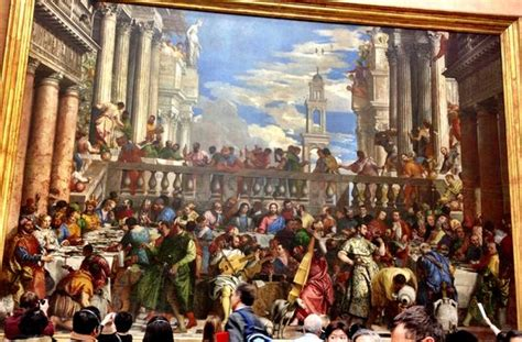 Wedding At Cana Painting In The Louvre by The Wedding At Cana Louvre Www Pixshark Images