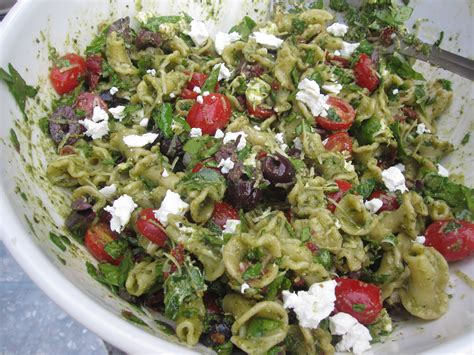 Pesto Pasta Salad Recipe | pesto pasta salad recipe dishmaps