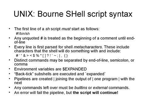 online tutorial unix shell scripting unix linux commands and shell programming презентация онлайн