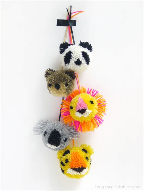 pom pom craft projects 25 pom pom crafts to make you pom pom