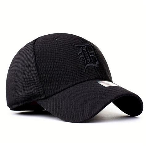 Topi Baseball Cap Topi Formula One Speed Topi F1 detroit tigers unadjustable cotton elastic fitted hat
