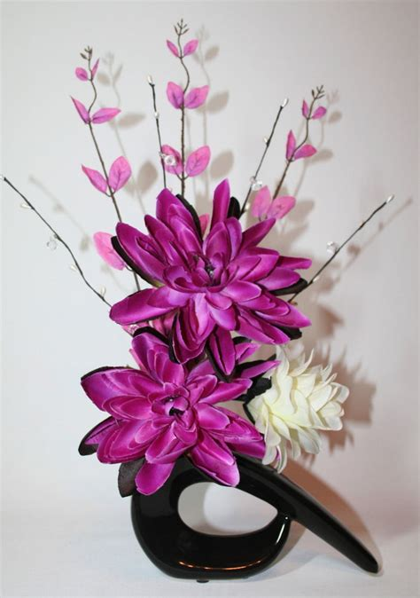 silk flower arrangements fake flower bouquets shop artificial silk flower arrangement pink cream flowers in