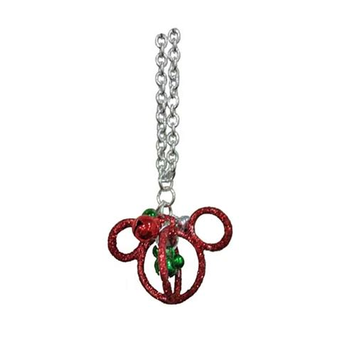 Disney Mickey Necklace Kalung your wdw store disney necklace mickey icon jingle bell