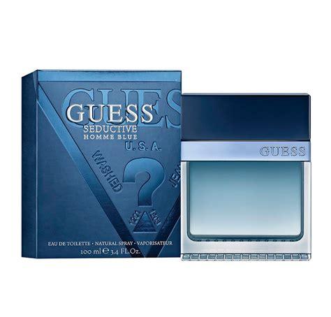 Guess Seductive Homme Blue Edt 100ml seductive homme blue eau de toilette spray guess
