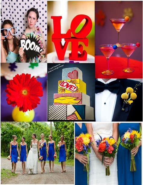themes in geek love pop art wedding ideas