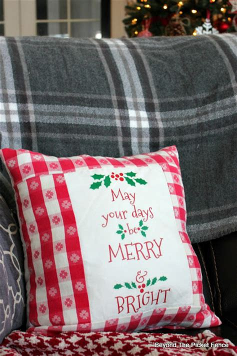avery iron on transfer paper target beyond the picket fence 12 days of christmas day 9