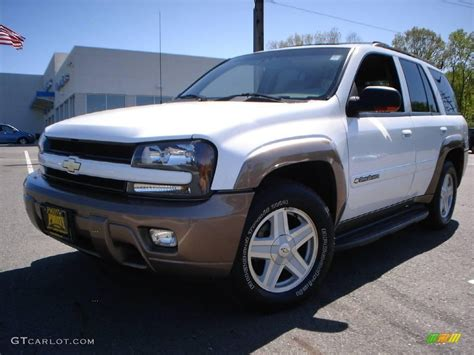 chevrolet trailblazer white 2002 summit white chevrolet trailblazer ltz 4x4 9461368