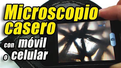 trio casero grabado con un celular microscopio casero con un m 243 vil o celular c 243 mo se hace
