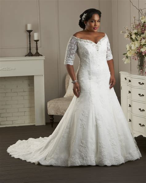 Plus Size Wedding Dresses With Sleeves by Plus Size Wedding Dresses Dressed Up