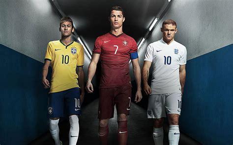 imagenes nike futbol neymar ronaldo y rooney sienten la presi 243 n del mundial