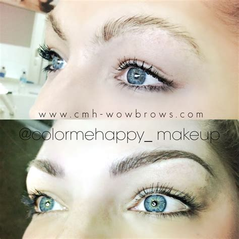 eyebrow tattoo in bali hair stroke feather touch tattooed eyebrows 499 cosmetic