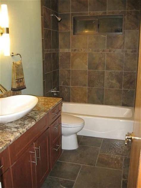 25  Best Ideas about Slate Tile Bathrooms on Pinterest