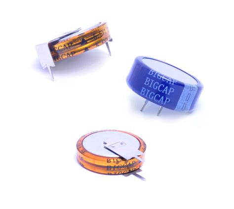 1f 2 5v supercapacitor coin type supercapacitor 25c 70c 5 5v 0 1f 0 22f 0 33f 0 47f 1 0f 1 5f 2 0f c h v type ultra