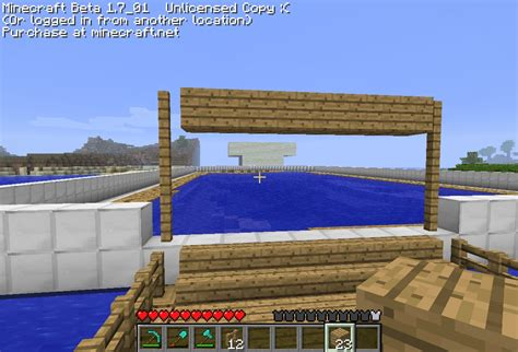 minecraft how to exit boat oasis of the minecraft minecraft project