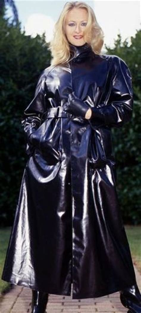 lade in pvc 1000 images about shiny black mackintoshes on