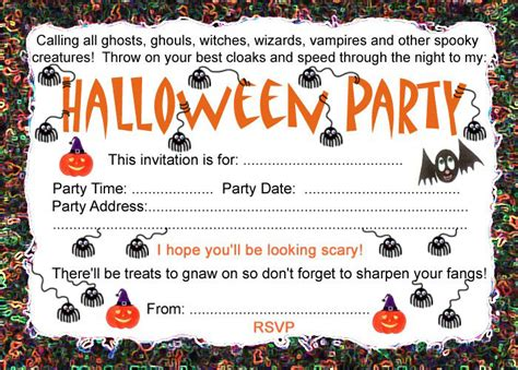 printable halloween party invitations print halloween party invitation rooftop post printables
