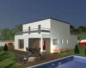 plan de moderne toit plat