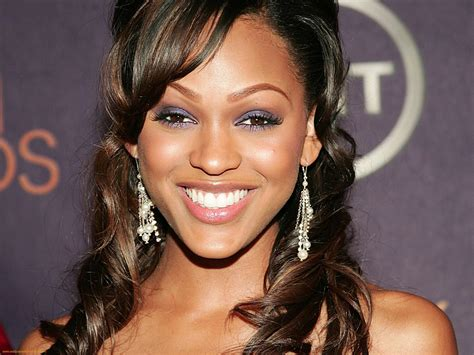meagan good tattooed eyebrows 18 of the most stunningly beautiful black